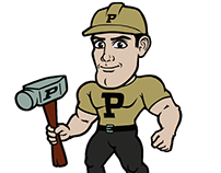 Purdue Pete Redesign by AJ GAGE