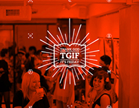 TGIF ! EXHIBITION VISUAL IDENTITY