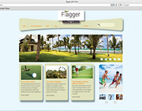 Golf Resort Website