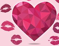 Campagna facebook World Kiss Day Lierac