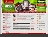 Singidunum University websites