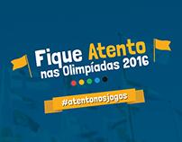 Atento - Campanha Olímpiadas 2016