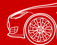 Tesla Model S Vector and animation