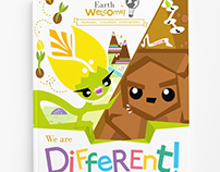 Earth Welcome - We are different!