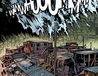 Disaster - comicbook sample