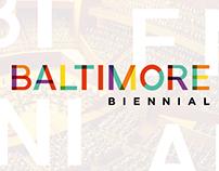 Event Campaign: Baltimore Biennial 2016