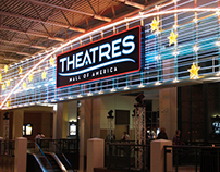 Theatres at Mall of America Rebrand