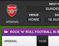 Live Scores iOS app. V3.
