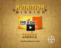 One A Day + Feeding America :10 TV & Print