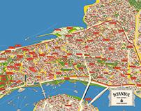 İstanbul Historic Peninsula İllustration