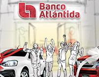 Storyboard Campaña de Tarjetas Banco Atlántida