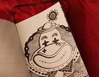 BW doodles