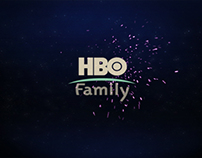 HBO Family On Air Graphic Package