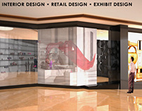 3D Interior Retail Design