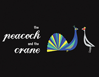 Peacock and the Crane Children's Fable Book