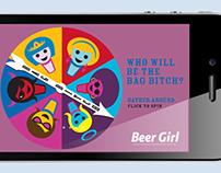 Miller Beer Girl