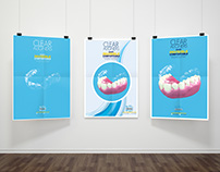 Clear Aligner Poster - 3D Ortholine