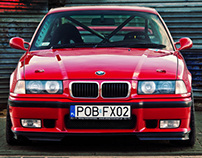 BMW E36 M3 - automotive photography