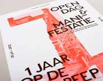 Op De Valreep 1 Year / Print Promotion