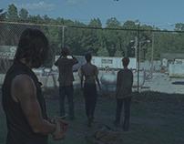 the Walking Dead S06E06 Matte Painting