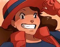 Pokemon Sprite Illustration
