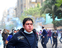 The Mohamed Mahmoud street fights - November 2011