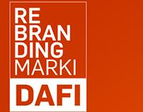 DAFI - rebranding.