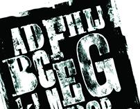Event branding / design / typography