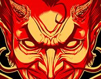 Volbeat Merch Illustration