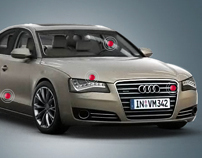 The new Audi A8 - Product Experience