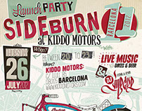 SIDEBURN 11 – Launch Party 2012