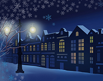 Seasons Greetings for Oded Kashi - Motion Graphic
