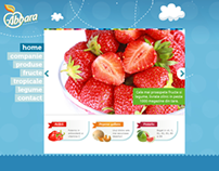 Homepage - Fruit importing company