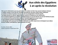 bilan d une année post-révolution Egyptienne