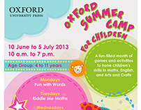 Oxford University Press - Bookmaking Summer Camp