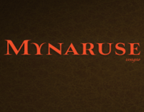 Mynaruse, a new titling face from insigne.