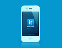 IT Kontrakt Mobile Application