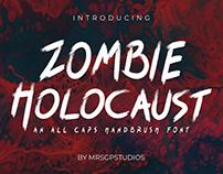 Zombie Holocaust Handbrush Font