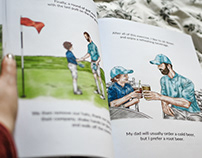 Illustrations for 'Golf Through the Eyes of a Child'