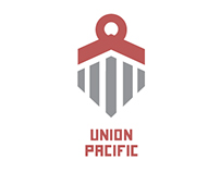Union Pacific Logo Rebrand