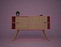 lavander sideboard (re-design)