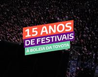 Toyota Music Festivals - TV Commercial