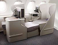 ASIANA AIRLINES A380 Carbin Interior