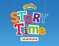 CBeebies Storytime App Visuals