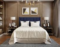 Сhocolate bedrooms