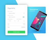 UI Design - Tela de Pagamento