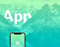 UX-UI design Xplore App