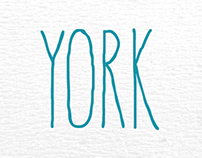 York Handwriting Font