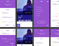 Lodgeo App Designs Free Project