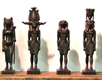 Custom Bronze Replicas of Egyptian Gods and Goddesses